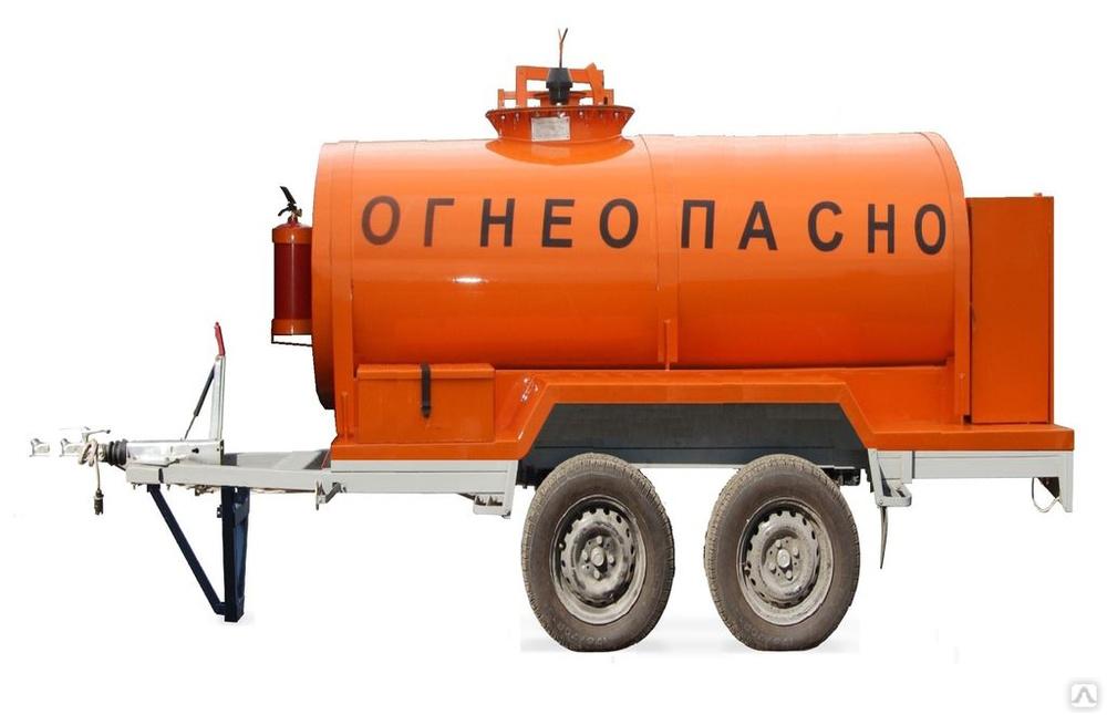 """Прицеп """"Топливозаправщик"""" 1800 л. с 1-ой ТРК (2 оси), цена в Самаре от компании Дайзен"""